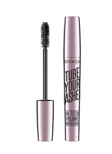 Divage Divage Tube Your Lashes Maskara 01 Siyah Siyah